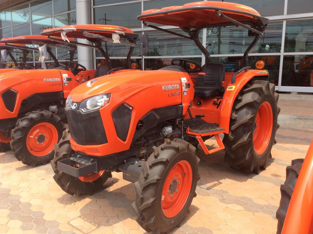 Keeping a Kubota tractor
